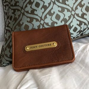 Juicy Couture camel wallet, NWT